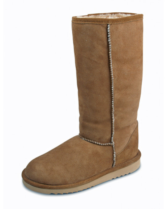 Winter Sheepskin (Lammfell) Stiefel mit leichter Sohle