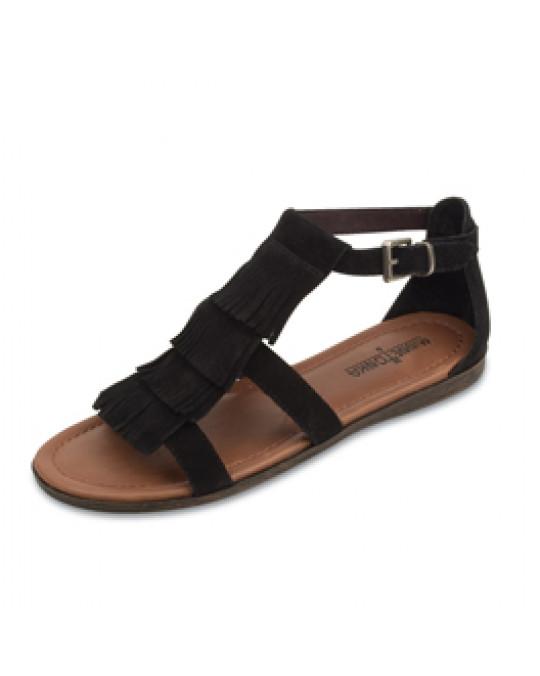 """Sandale """"Maui"""" in schwarz"""