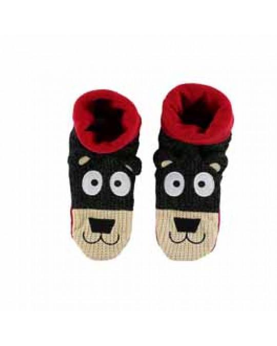 Bären-Kinder-Hausfinken Socken