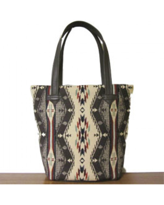 "Ethno Bucketbag aus Pendletonstoff ""Spirit of the Peoples"""