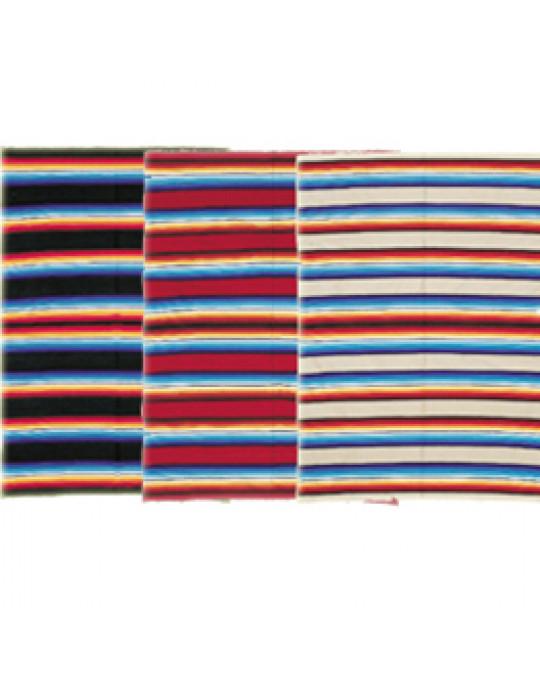 Regenbogen Decke im mexikanischen Stil