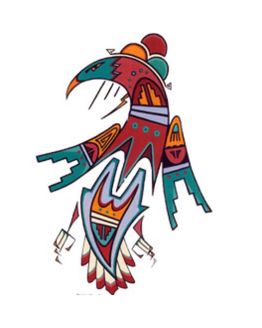 """Druck von J. Martinez """"Mythical Bird"""""""