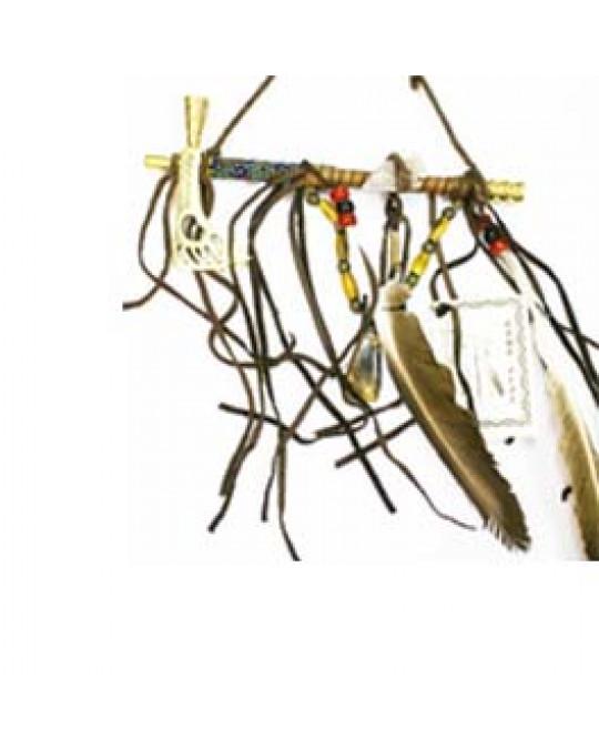 Metall Pfeifentomahawk der Navajo Mini