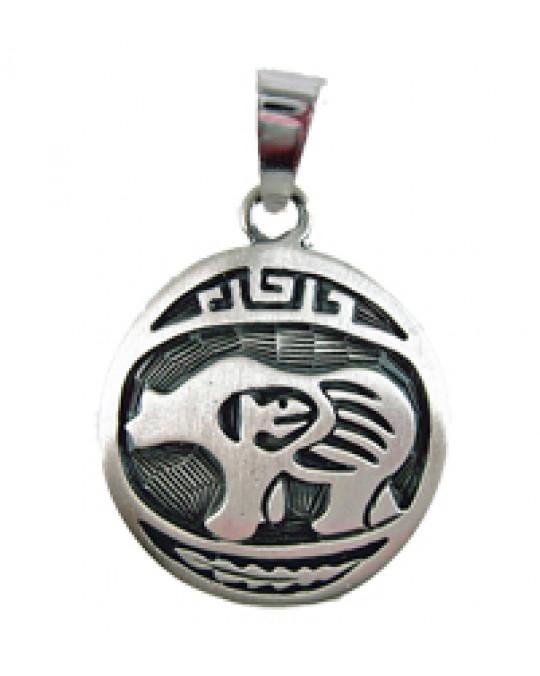 """Sternzeichen-Amulett """"Bär"""" gross 22.8.-21.9."""