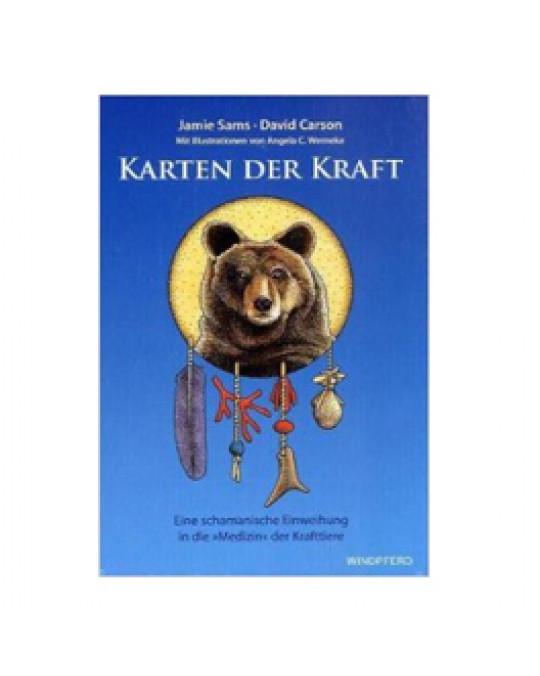 """""""Karten der Kraft"""" Orakel mit Buch"""