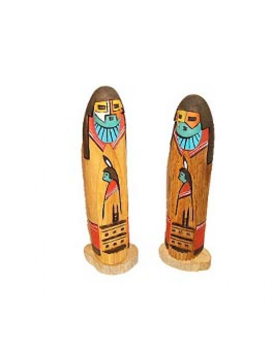 Kachina Shalako Statuen der Navajo, klein