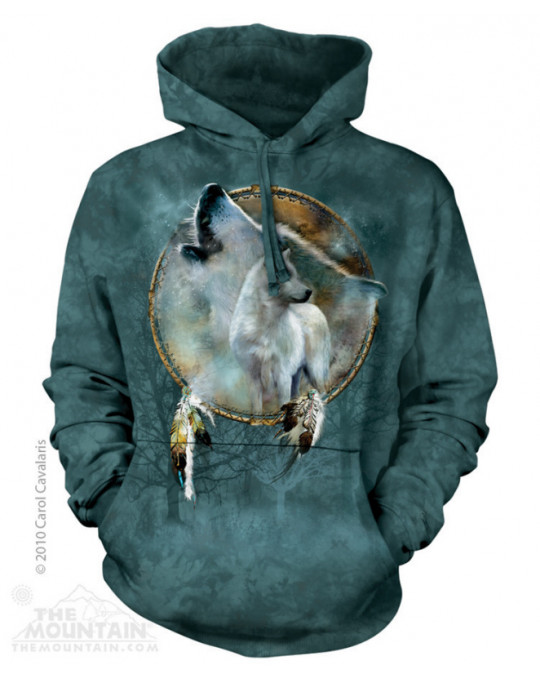 """Wolf Spirit Shield"" Hoodie (Kapuzen-Sweatshirt)"