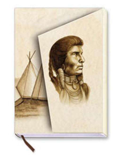 !HIT Notizbuch im Stil der Indianer