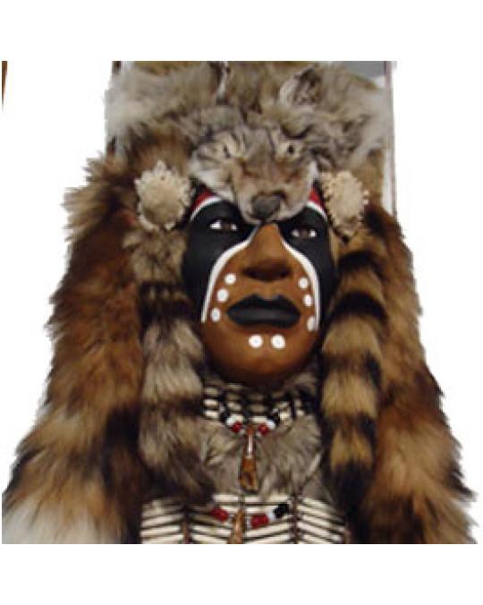 Zeremonialmaske, Dakota-Sioux-Krieger