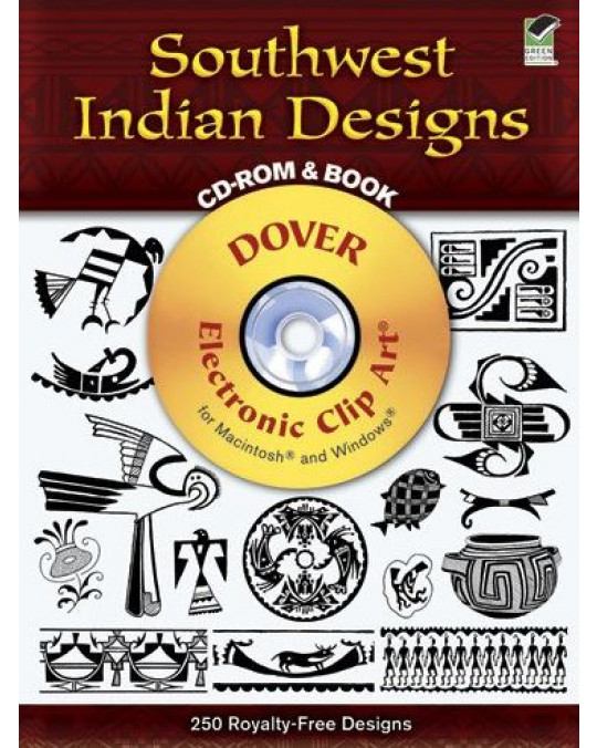 "Design Buch mit CD Rom ""Southwest Indian Design"""
