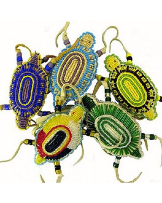 Schildkrötenamulett der Lakota/Sioux