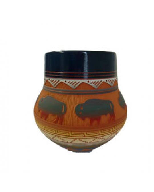 Navajo Töpferei Symbolik Bison