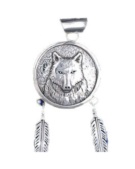 Anhänger Wolf Navajo