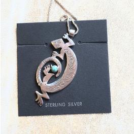 Eidechse - mysthisches Symbol Silberschmuck