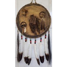Spirituelles Ausrüstungsschild der Navajo