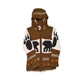 """Kid's Strick Jacke """"Bear-Paw"""""""