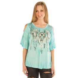 """Dreamcatcher Sky"" Damen T-Shirt"