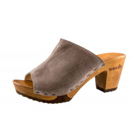 "Holzschuh/Clog ""Elly"" in taupe"