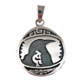 """Sternzeichen-Amulett """"Rabe"""" gross 22.9.-22.10."""