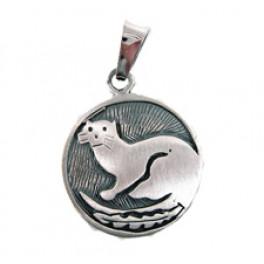 """Sternzeichen-Amulett """"Otter"""" 20.1.-18.2."""