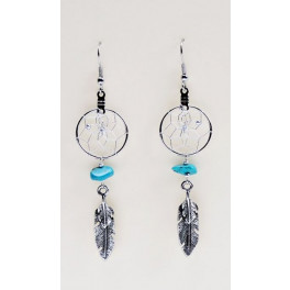 Traumfänger-Ohrringe Modeschmuck aus Kanada