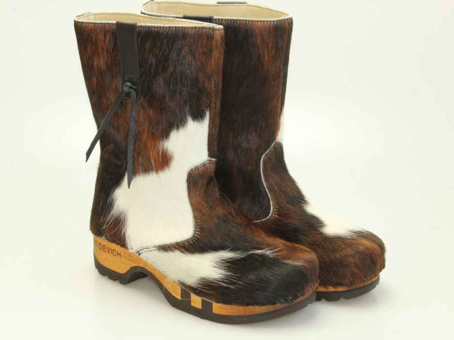 norway holzschuhe mit kuhfell dfc0c 01757