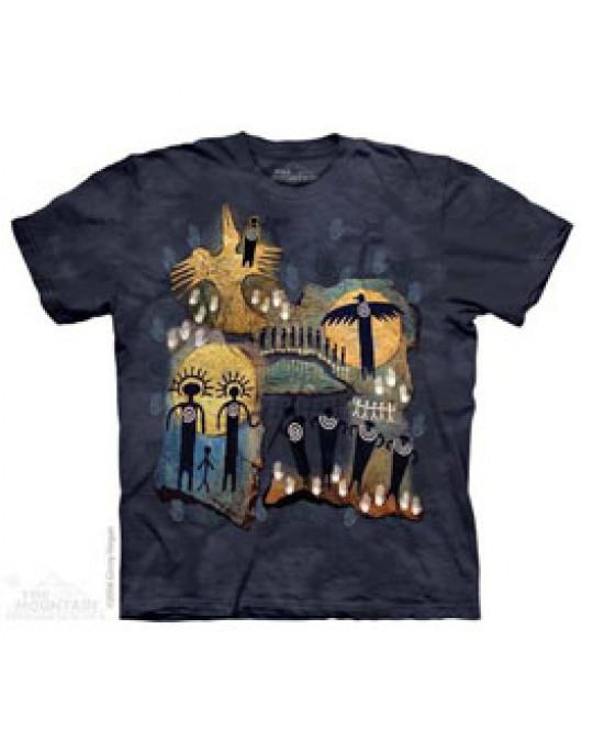 """Flight of the Shaman"" - T-Shirt von The Mountain"