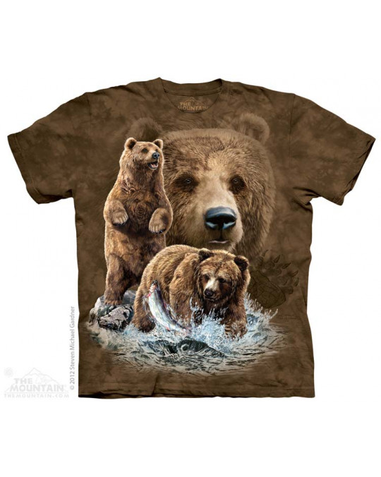 """Find 10 Bears"" T-Shirt von The Mountain"