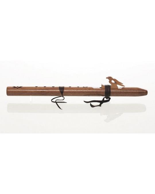 Flöte Sparrow Hawk Walnuss, Tonlage A
