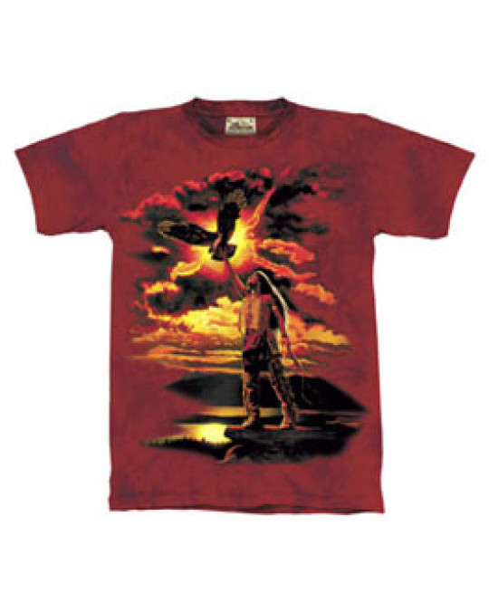 """Eagle Feather"" Kinder T-Shirt in Gr. S"