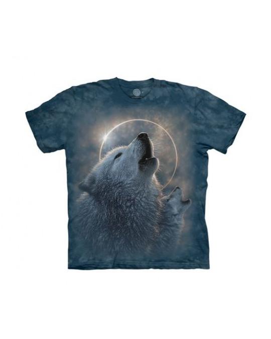 """""""Wolf Eclipse"""" T-Shirt für Kinder"""