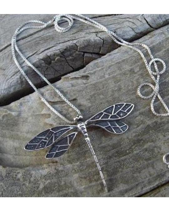 Libelle - mystisches Symbol Silberschmuck
