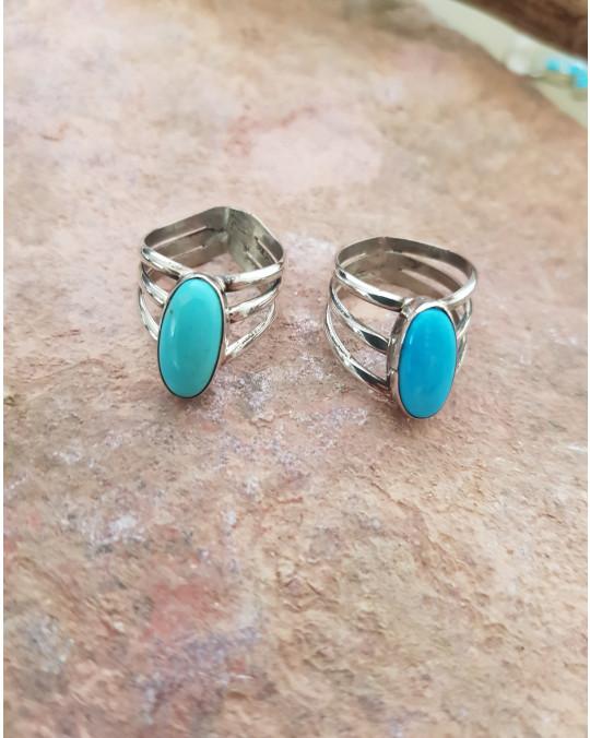 Türkis Ringe der Navajo in verschiedenen Grössen