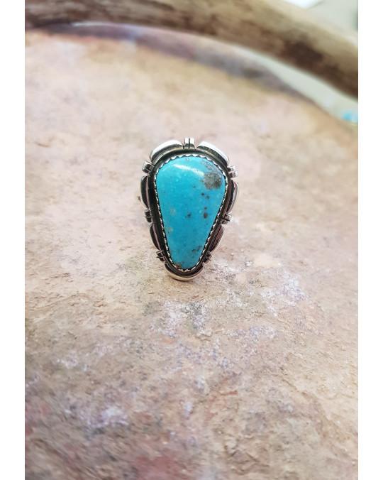 Ring der Navajo mit Türkis