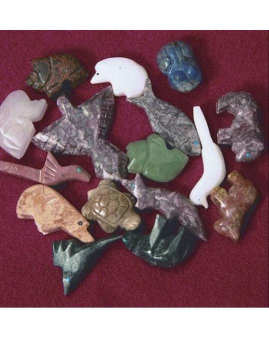 Perlen: Edelstein-Tiere