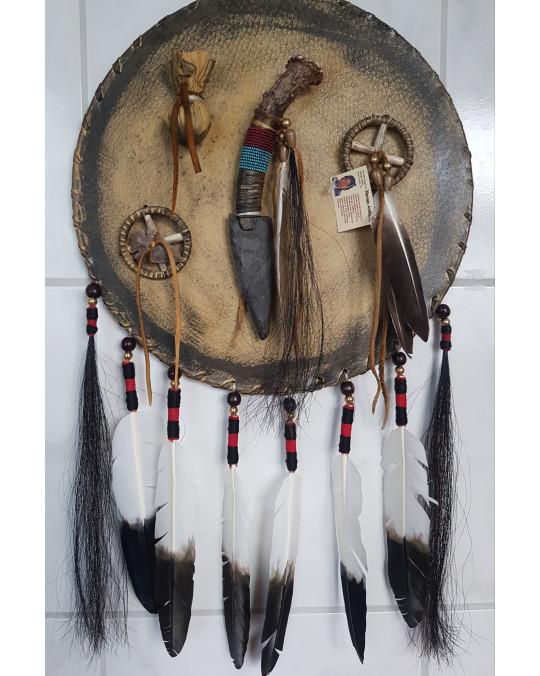 Aurüstungsschild der Navajo