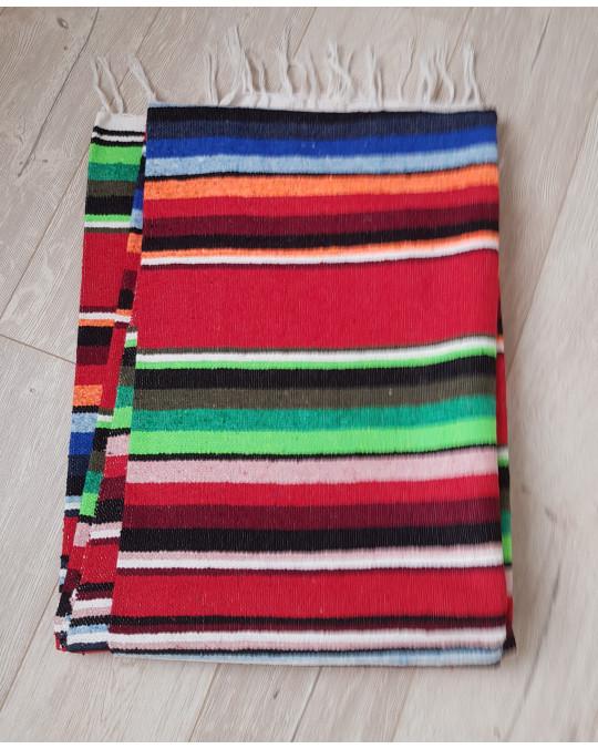 Gewobene, original mexikanische Decke SALTILLO in mehreren Farben