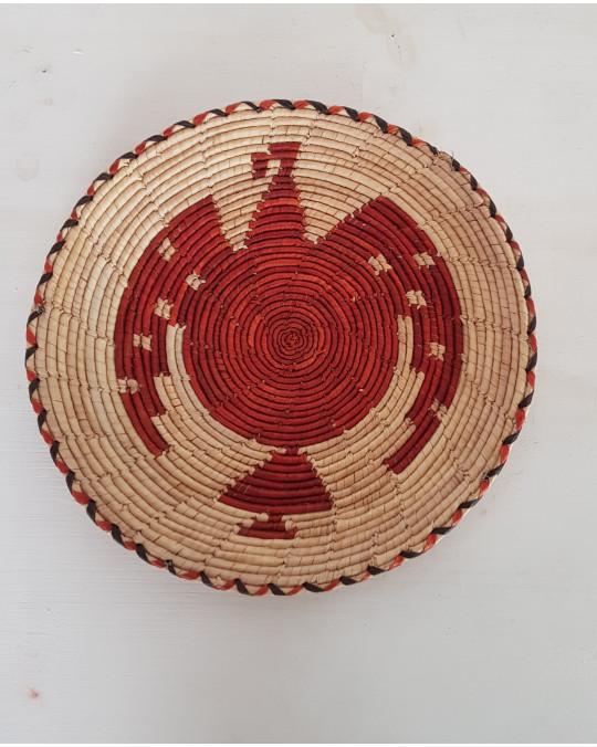 Hochzeitskörbe der Tarahumara, verschiedene Farben, Designs
