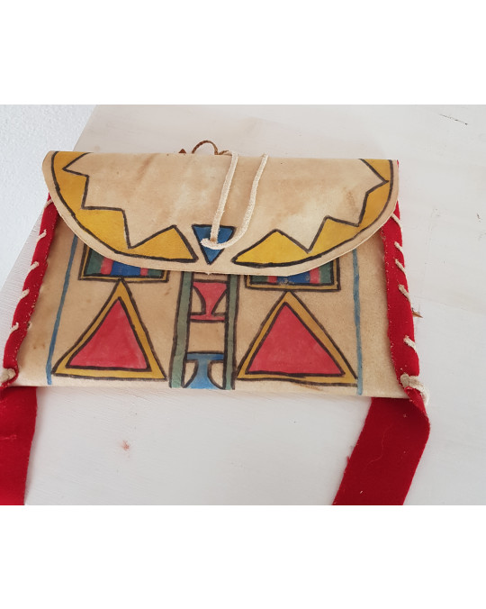 Parfleche -Beutel - indianische Handarbeit Lakota