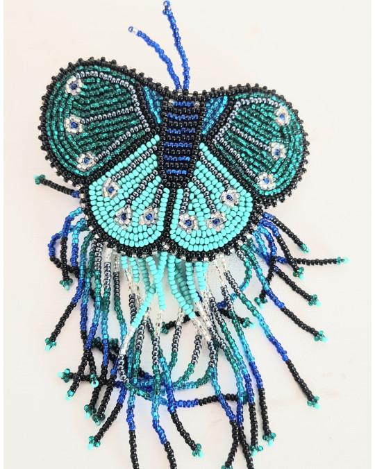 "Haarspange Beadwork ""Butterfly"""