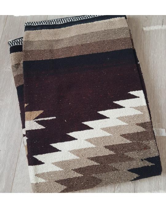 EXTRA gross, original mexikanische Decke in mehreren Farben (mit beige)