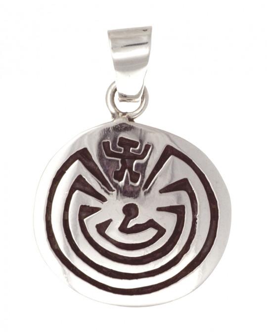 """Amulett """"Man in the Maze"""""""