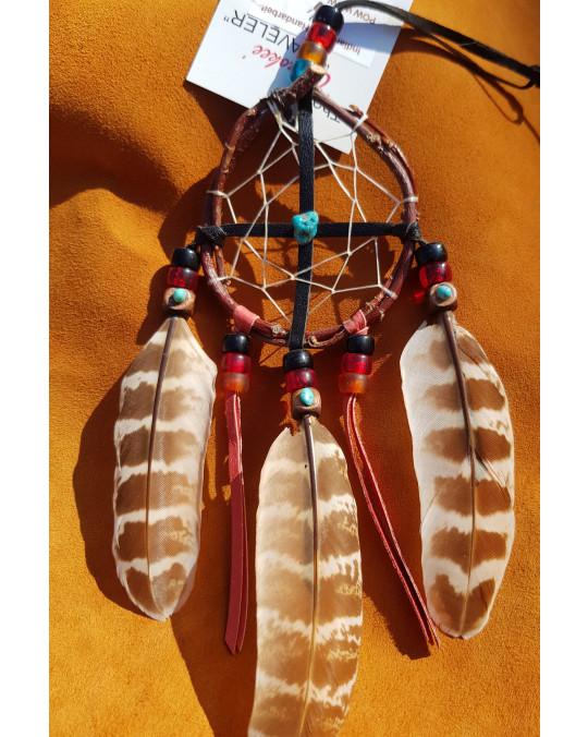 Weidenruten Traumfänger/Medizinradkombination der Cherokee