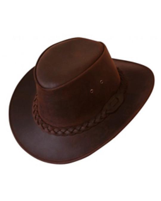 """1A Qualität Leder Hut """"Bushman"""""""