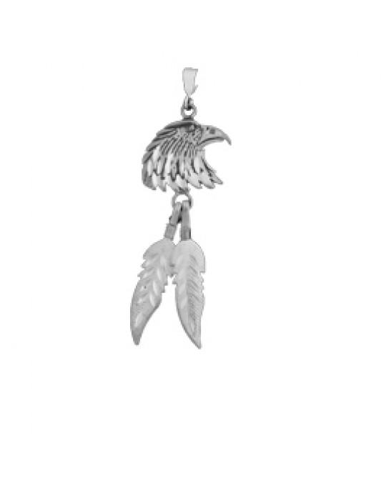 Adler Anhänger im Diamantschliff