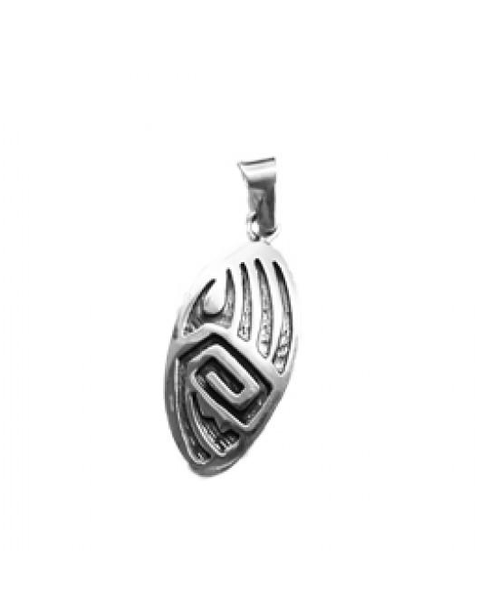 Längliches Amulett Bärentatze