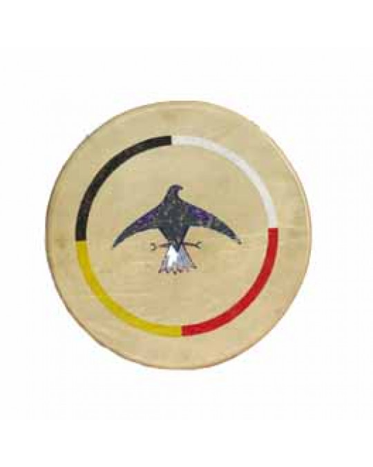 """Trommel der Lakota (Sioux) """"Thunderbird"""""""