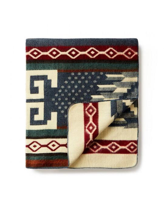 """Original Ecuador Decke """"Wave"""""""