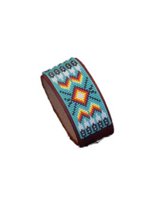 Armband mit Perlenarbeit, indianische Handarbeit