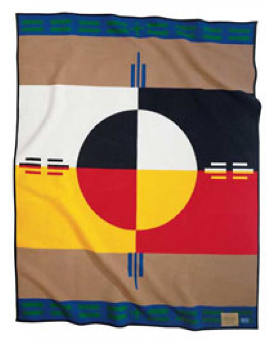 "Pendleton ""Circle of Life"" Decke"